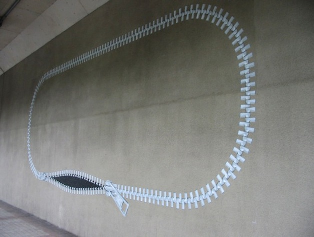 Zipper-Painting